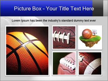 White Basket Ball PowerPoint Template - Slide 19
