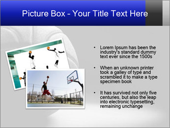 White Basket Ball PowerPoint Template - Slide 20