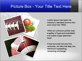 White Basket Ball PowerPoint Template - Slide 23