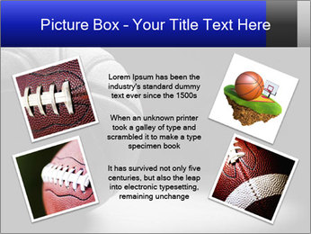White Basket Ball PowerPoint Template - Slide 24