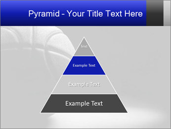 White Basket Ball PowerPoint Template - Slide 30