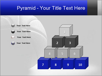 White Basket Ball PowerPoint Template - Slide 31