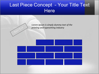 White Basket Ball PowerPoint Template - Slide 46