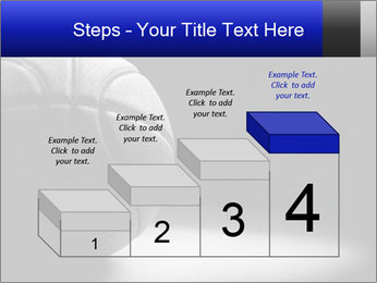 White Basket Ball PowerPoint Template - Slide 64