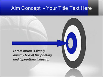 White Basket Ball PowerPoint Template - Slide 83