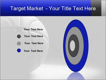 White Basket Ball PowerPoint Template - Slide 84