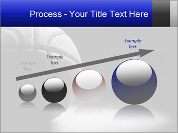 White Basket Ball PowerPoint Template - Slide 87
