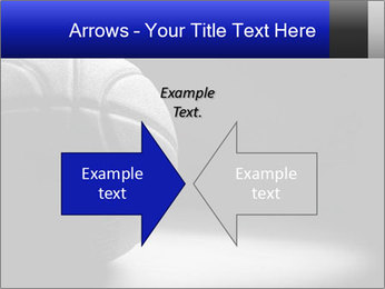 White Basket Ball PowerPoint Template - Slide 90