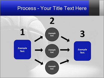 White Basket Ball PowerPoint Template - Slide 92
