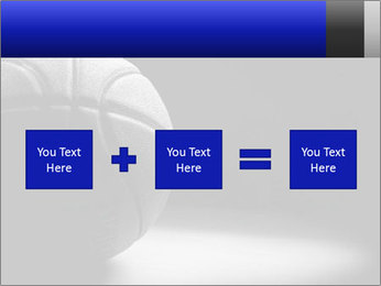 White Basket Ball PowerPoint Template - Slide 95