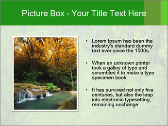 The 'Wall of Tears' has over 17 waterfalls flowing at once PowerPoint Template - Slide 13