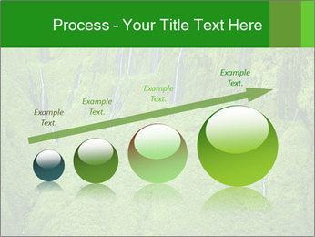 The 'Wall of Tears' has over 17 waterfalls flowing at once PowerPoint Template - Slide 87