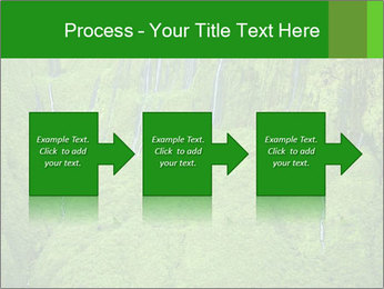 The 'Wall of Tears' has over 17 waterfalls flowing at once PowerPoint Template - Slide 88