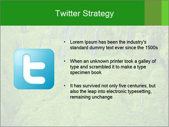 The 'Wall of Tears' has over 17 waterfalls flowing at once PowerPoint Template - Slide 9