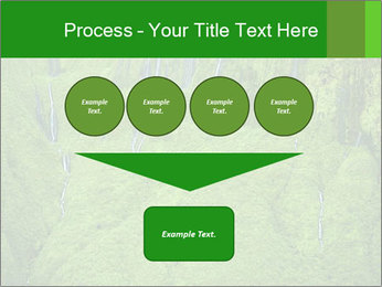 The 'Wall of Tears' has over 17 waterfalls flowing at once PowerPoint Template - Slide 93