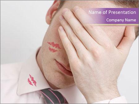 Husband Cheater PowerPoint Template