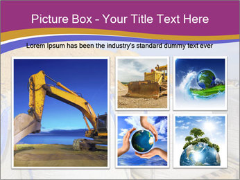 White big bag sand sacks quarry perspective PowerPoint Template - Slide 19