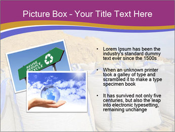 White big bag sand sacks quarry perspective PowerPoint Template - Slide 20