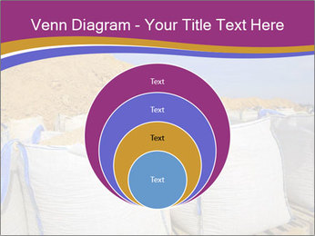 White big bag sand sacks quarry perspective PowerPoint Template - Slide 34