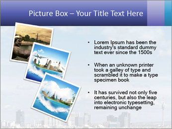 Skyline Donau City PowerPoint Templates - Slide 17