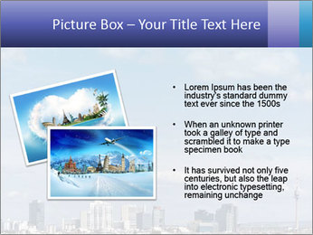 Skyline Donau City PowerPoint Templates - Slide 20