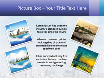 Skyline Donau City PowerPoint Templates - Slide 24