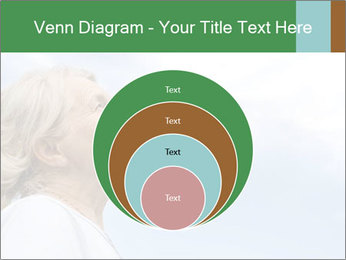 Beautiful older woman on the sky PowerPoint Template - Slide 34