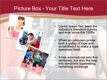 Personal trainer assisting PowerPoint Template - Slide 17