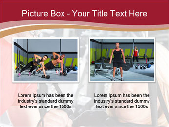 Personal trainer assisting PowerPoint Template - Slide 18