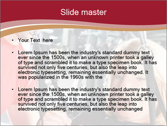 Personal trainer assisting PowerPoint Templates - Slide 2