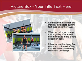 Personal trainer assisting PowerPoint Template - Slide 20