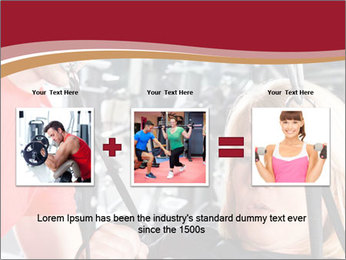 Personal trainer assisting PowerPoint Template - Slide 22
