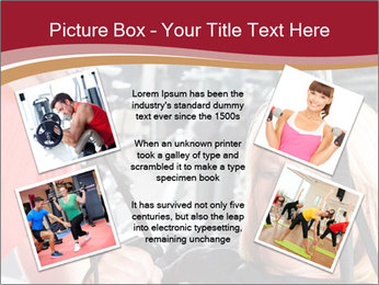 Personal trainer assisting PowerPoint Template - Slide 24