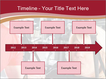 Personal trainer assisting PowerPoint Templates - Slide 28