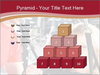 Personal trainer assisting PowerPoint Template - Slide 31