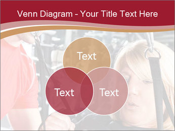 Personal trainer assisting PowerPoint Template - Slide 33
