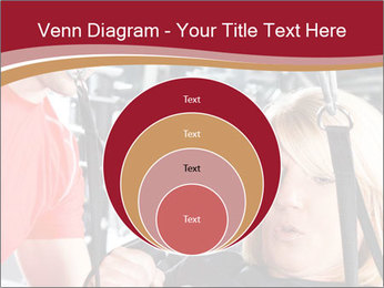 Personal trainer assisting PowerPoint Template - Slide 34