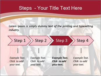 Personal trainer assisting PowerPoint Templates - Slide 4