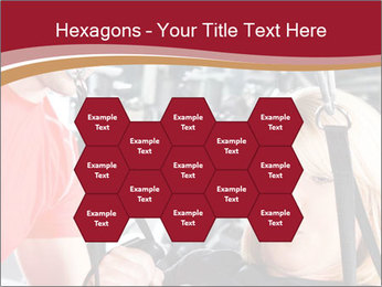 Personal trainer assisting PowerPoint Templates - Slide 44
