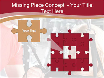 Personal trainer assisting PowerPoint Templates - Slide 45