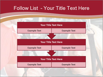 Personal trainer assisting PowerPoint Templates - Slide 60