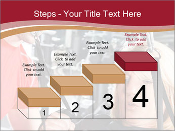 Personal trainer assisting PowerPoint Templates - Slide 64