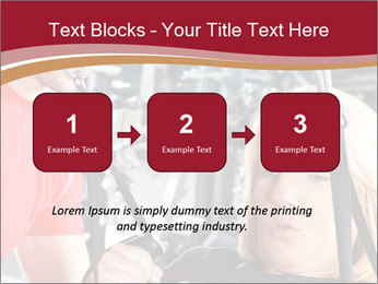 Personal trainer assisting PowerPoint Templates - Slide 71