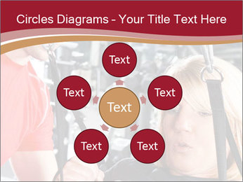 Personal trainer assisting PowerPoint Templates - Slide 78