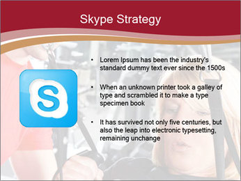 Personal trainer assisting PowerPoint Template - Slide 8