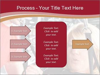 Personal trainer assisting PowerPoint Templates - Slide 85