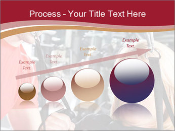 Personal trainer assisting PowerPoint Templates - Slide 87