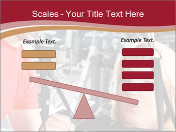 Personal trainer assisting PowerPoint Templates - Slide 89