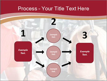 Personal trainer assisting PowerPoint Templates - Slide 92