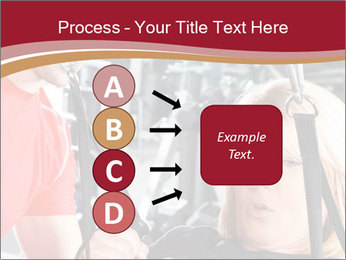 Personal trainer assisting PowerPoint Templates - Slide 94
